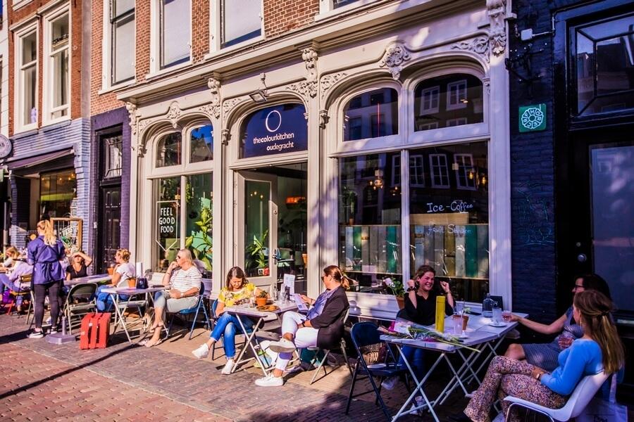 Locatie met meerwaarde The Colour Kitchen Oudegracht in Utrecht