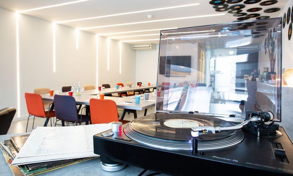Locatie met meerwaarde Music Meeting Lounge in Amstelveen