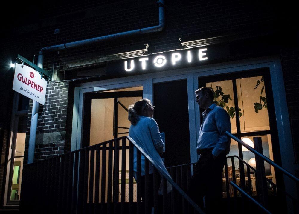 Locatie met meerwaarde Café Utopie in Den Haag