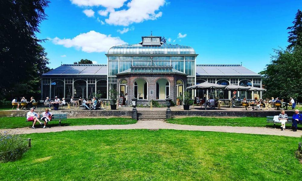 Locatie met meerwaarde Wintertuin Experience in Baarn