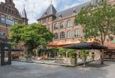 De binnentuin en speelplaats van het kit in amsterdam locatie met meerwaarde voor natuur mens en cultuur