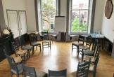 Kringopstelling in zaal van locatie met meerwaarde het genietcafe in zutphen