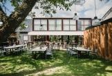 Art centre delft de tuin en het terras