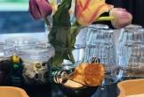 Koffietafel van vergaderen voor tanzania in het gooi in huizen