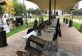 Huis aan zee muiderberg meerwaarde cultuur landhuis monument chique buiten eten barbeque