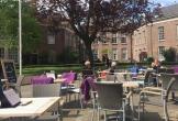 Terras van locatie met meerwaarde het genietcafe in zutphen
