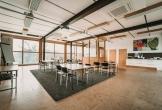 Overzicht presentatieruimte van het art centre delft locatie met meerwaarde