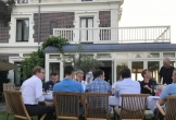 Huis aan zee muiderberg meerwaarde cultuur landhuis monument chique buiten eten2