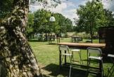 Tuin van het art centre delft locatie met meerwaarde