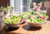 Salade llunch bij grytte bloemenheuvel in driebergen