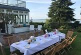 Huis aan zee muiderberg meerwaarde cultuur landhuis monument chique buiten eten