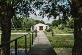 Yurt als vergaderruimte van het art centre delft een locatie met meerwaarde