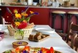 Malden kiemkracht duurzaam mvo natuur eventlocatie met natuur salade bloemen